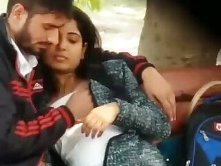 Just lewd non-professional Indian couple and their oral sex petting