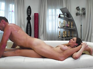 Unskilled with fine ass, nasty anal tryout with Rocco