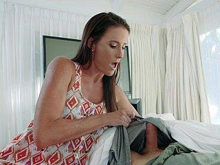 Son's hot hard cock