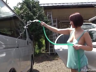 car cabine is the perfect place for enjoyable fuck supposing you ask this sex-crazed girl
