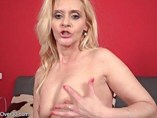 Blond Whisker Pamper Housewife Starlet (44 Y O ) - mom