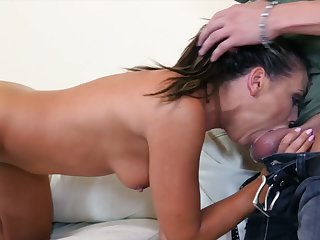 Lewd minx Adriana Chechik has a prurience for hardcore cunt distension fuck