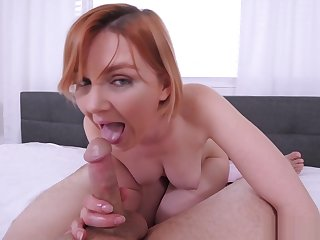 Busty MILF stepmom played take a chunky dig up at the morning