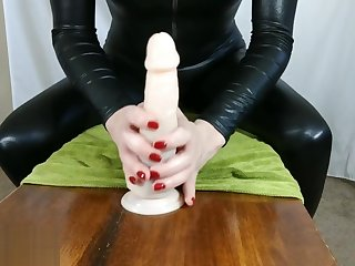 Sexy POV Footjob from Flashing Latex Start-up Socks - Toes Spread & Reverse/Solejob