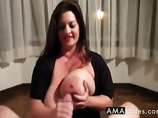Maria Boob Fuck Added to Handjob