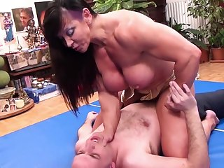 Physically MILF Keep on a string the Sneak-thief