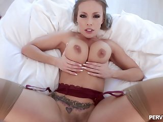 Amazing mommy shows off in flawless scenes of POV hardcore