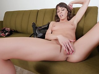 Hard with an increment of heavy dick sucking POV porn with a skinny one