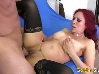 Golden Slut - Pounding Older Pussies Compilation Part 17