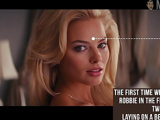 Awesome dreamboat Margot Robbie flashed her tits dimension doing some nude scenes