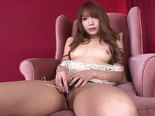 Hottie Ayaka Fujikita Fucks Herself With An Asian Vibrator