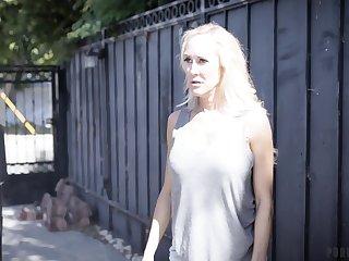 Angry wife Brandi Love wants to punish husband's young mistress Valentina Nappi