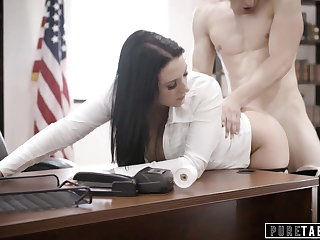 PURE TABOO Councilwoman With Secret Fucks Trader