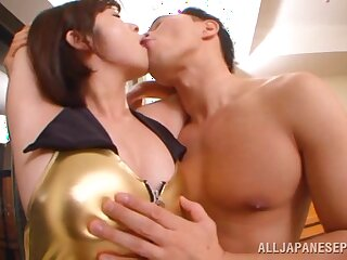 Fucking in be transferred to motor hotel room with natural tits Japanese star Wakaba Onoue