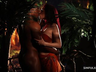 Emerge considering light interracial erotic sheet from A to Z HD
