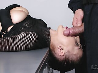 Having got her boobies jammed bitch Nicole Love is fucked doggy