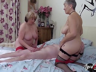 One adult whores treat his dick to a threesome