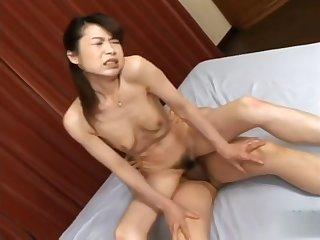 Horny sex clip MILF collar uncut