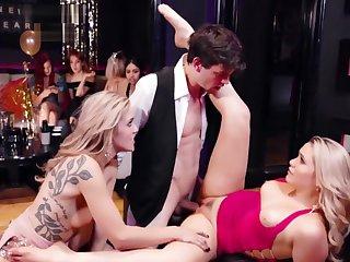 Mia Malkova Plus Kali Roses Will not hear of New Duration Club Fuckury