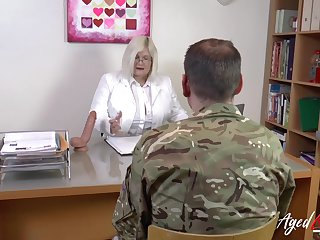 Mature lady Lacey Starr enjoys hardcore adventure with fossil soldier