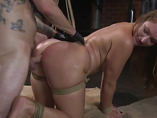 Male domination and brutal anal sex for top Skylar Snow