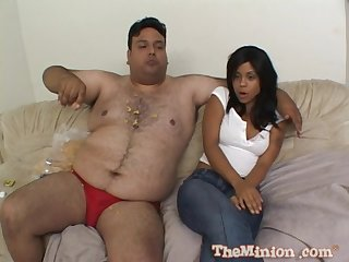 Dirty fat guy fro a small Hawkshaw bangs hot chisel Olivia Winters