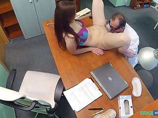 Hidden camera before doctors office records dirty sex with a for fear of the fact