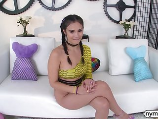 NYMPHO Adorable Violet Starr's backdoor pounding