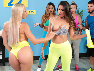 Running Out Their Hector Free Video In the matter of Abella Danger - BRAZZERS