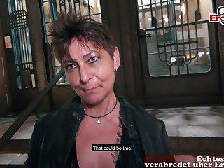 German chubby mom at public flirt gonzo rendezvous