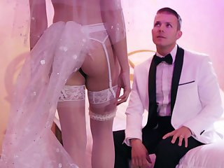 Fucking right check into the wedding with tempting wife Avi Exalt
